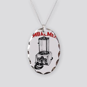 embportShirtLight Necklace Oval Charm