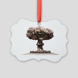 Atomic explosion Picture Ornament
