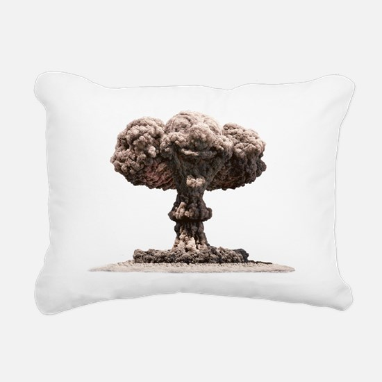 Atomic explosion Rectangular Canvas Pillow