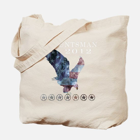 Huntsman_eagle_republican shirt_Black Tote Bag