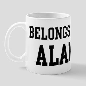 Belongs to Alan Mug