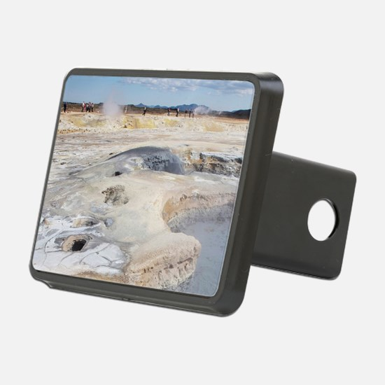 Boiling mud pits and steam Hitch Cover