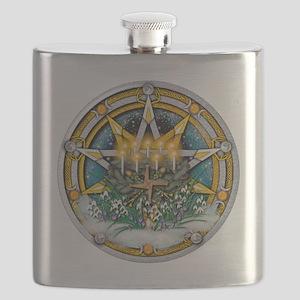 Imbolc Pentacle Flask