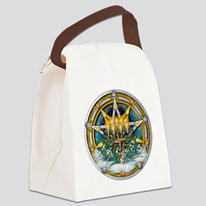 Imbolc Pentacle Canvas Lunch Bag