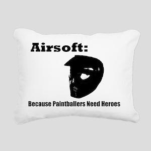 airsoft heroes Rectangular Canvas Pillow