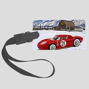 Hot Wheels_Ferrari 250 Le Mans_R Large Luggage Tag