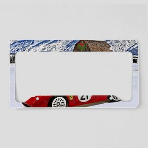 Hot Wheels_Ferrari 250 Le Man License Plate Holder