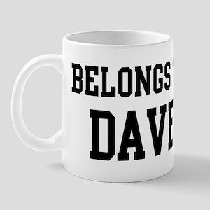 Belongs to Dave Mug