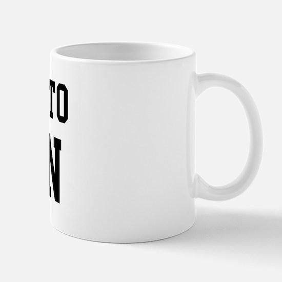 Belongs to Aaron Mug