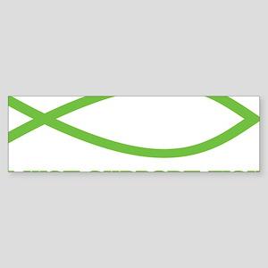FISH3 Sticker (Bumper)