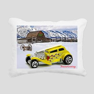 Hot Wheels_Straight Pipe Rectangular Canvas Pillow