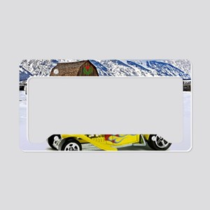 Hot Wheels_Straight Pipes_Yel License Plate Holder