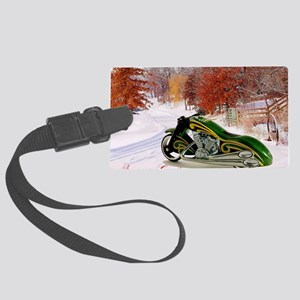 Hot Wheels_Scorchin Scoot 5X7 Large Luggage Tag