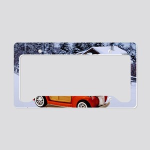 Hot Wheels_40 Woodie_Orange_L License Plate Holder
