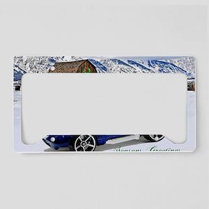 Hot Wheels_Shelby Cobra Dayto License Plate Holder