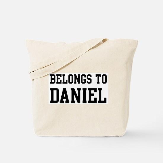 Belongs to Daniel Tote Bag