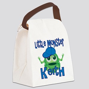 keith-b-monster Canvas Lunch Bag