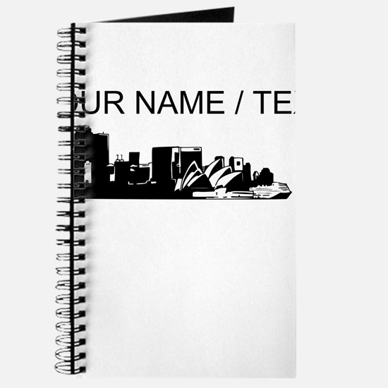 Custom Sydney Australia City Line Journal