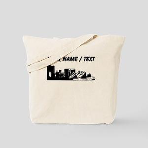Custom Sydney Australia City Line Tote Bag
