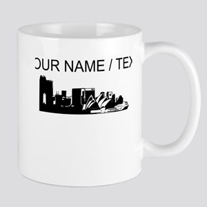 Custom Sydney Australia City Line Mugs