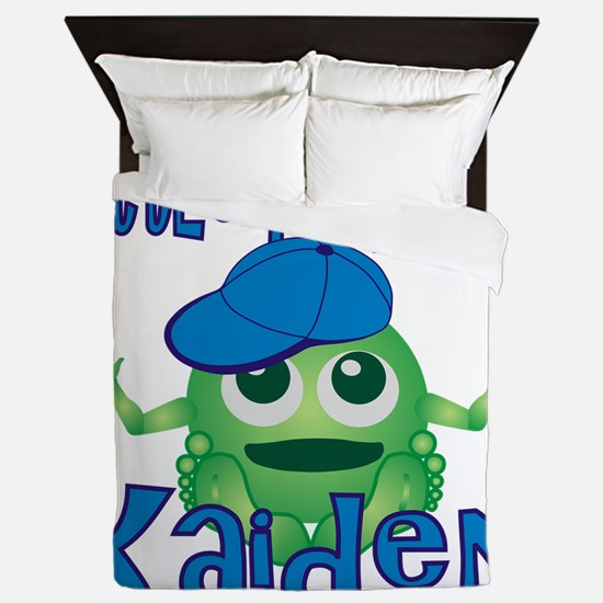 kaiden-b-monster Queen Duvet