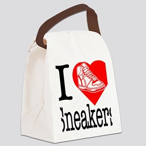 I-Heart-Sneakers Canvas Lunch Bag