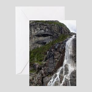 Lysefjord (aka Lyse Fjord). Hanging  Greeting Card