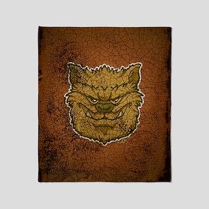 kindle_img_werewolf_brown Throw Blanket