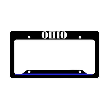 Ohio Police License Plate Holder