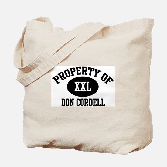 Property of Don Cordell Tote Bag