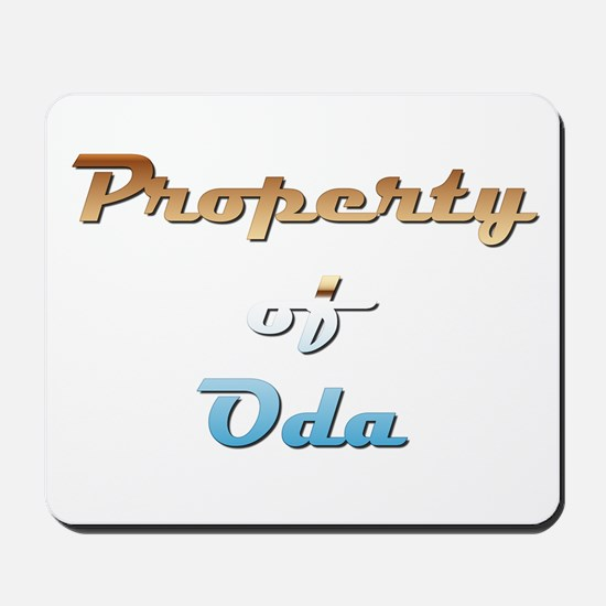 Property Of Oda Female Mousepad