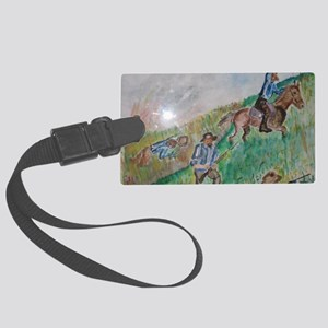 Western Frontier Large Luggage Tag