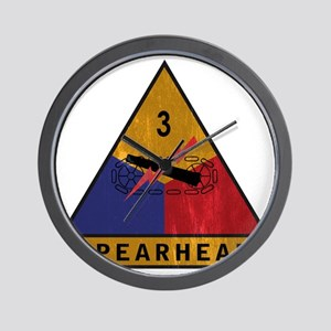 3rd Armored Div Vintage Wall Clock