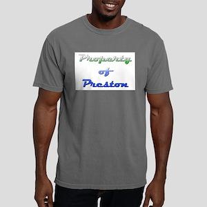 Property Of Preston Male Mens Comfort Colors Shirt