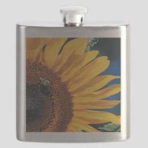 sunflower_ipad_sleeve Flask