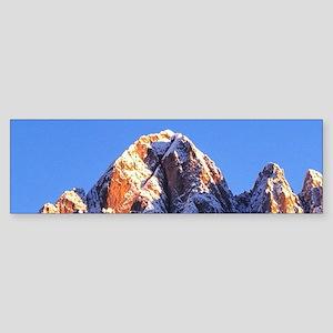 In Italy's Dolomite Alpsp. Late l Sticker (Bumper)