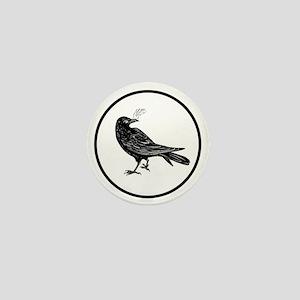 cirlce_bird_logo Mini Button