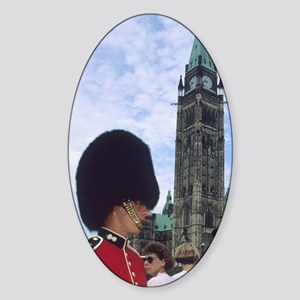 The changing of the guards at Parli Sticker (Oval)