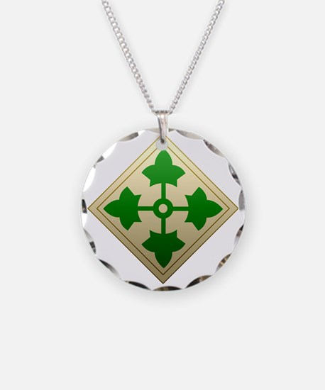 4th infantry div Necklace