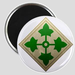 4th infantry div - Vintage Magnet