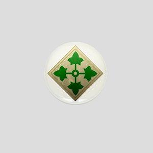 4th infantry div - Vintage Mini Button