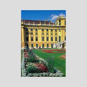 Schonbrunn Castle in Vienna, Aust Rectangle Magnet