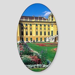 Schonbrunn Castle in Vienna, Austri Sticker (Oval)