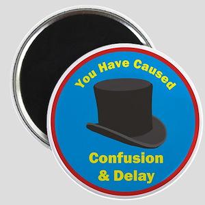 topham hat. Magnet