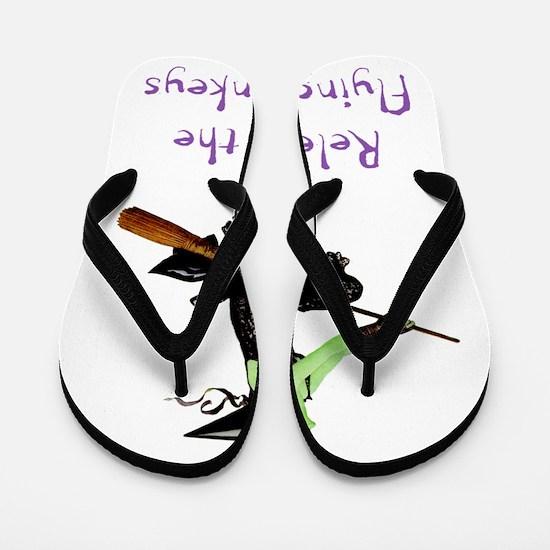 WITCH_Flying Monkeys 5 Flip Flops