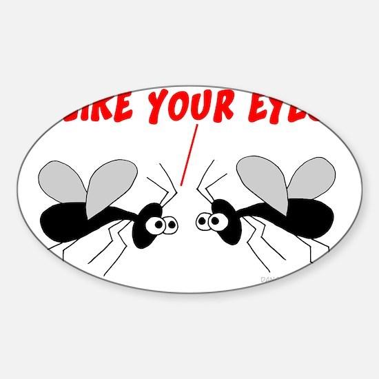 New gnats cafepress6 sticker oval