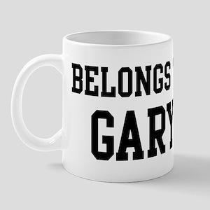 Belongs to Gary Mug