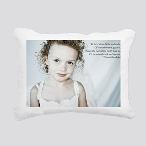 Blithe and Antic Rectangular Canvas Pillow