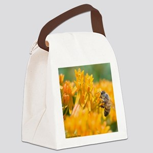 Wall Calendar-Bee and Pollinators Canvas Lunch Bag