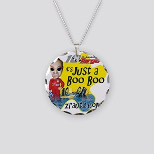 Booboo2_rgb Necklace Circle Charm